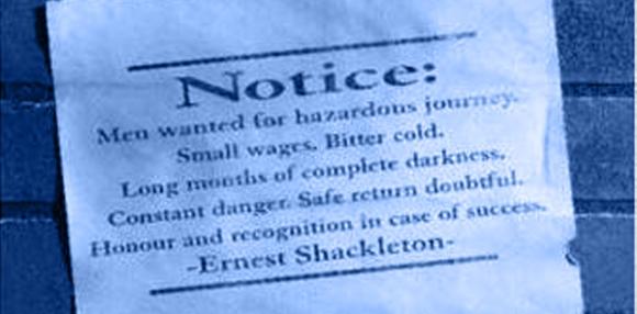 Anúncio de Emprego Endurance